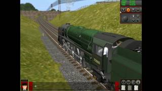 Trainz Classics BR Britania Hauling Blue Carriages