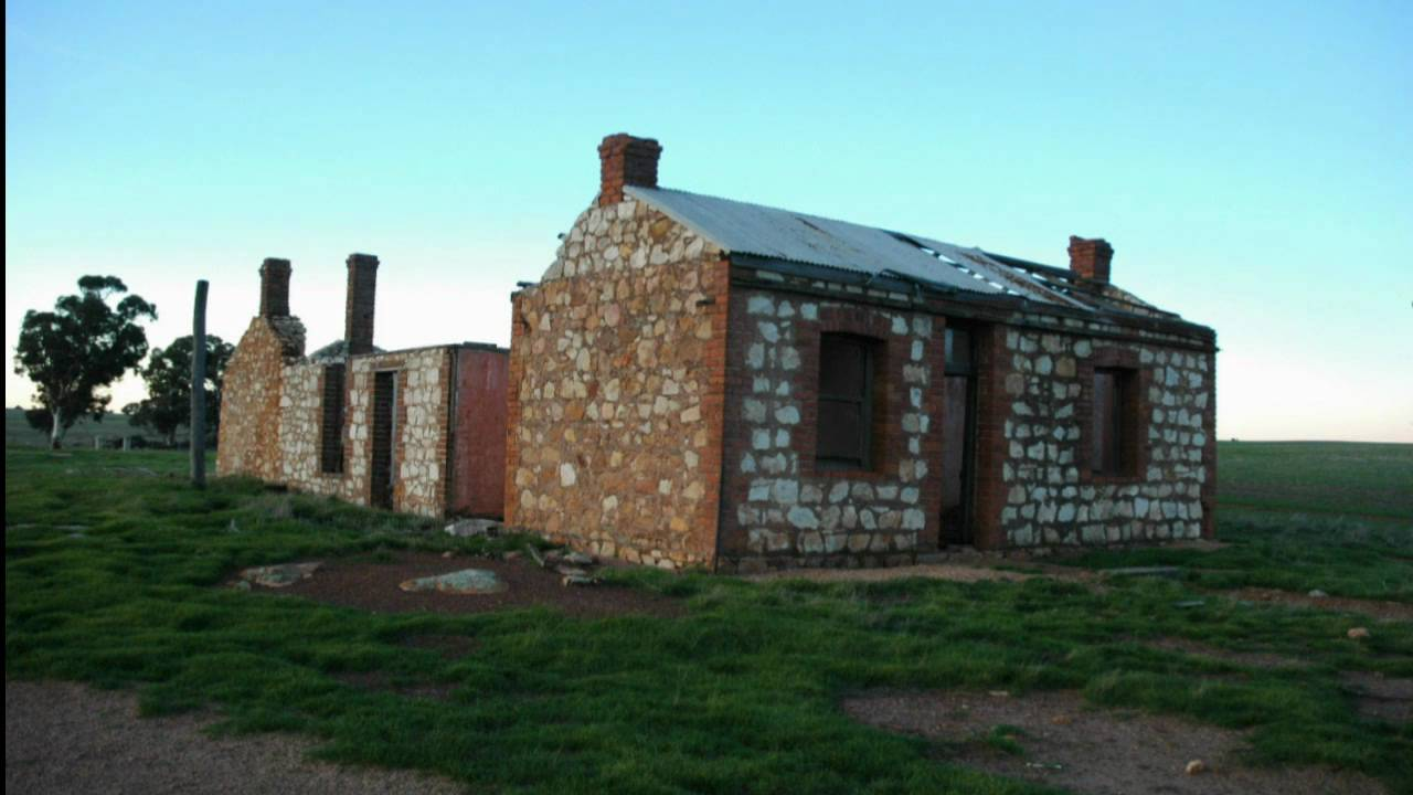 Old Abandoned Farmhouses Of The Great Southern Region In