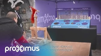 Proximus: Finale Play&Gold 19/03/2016