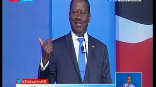Raila Odinga speaks out of the last presidential elections results