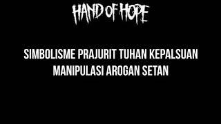 Gambar cover Hand Of Hope   Simbolisme Kepalsuan Lirik