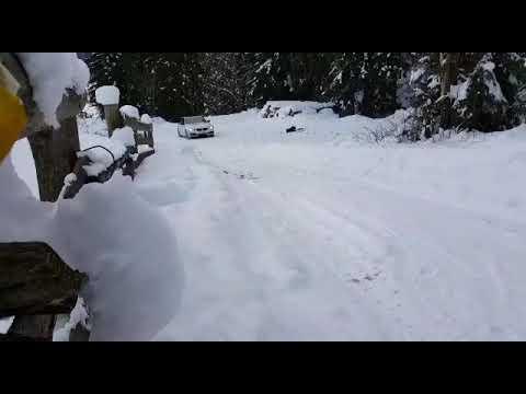 Xdrive bmw snow hillclimb test mit nexen winguard sport 2