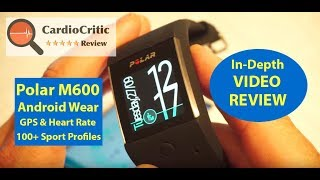 Polar M600 Review. The Best Sports Smartwatch of 2018. Android Wear - GPS, Heart Rate, Music Storage