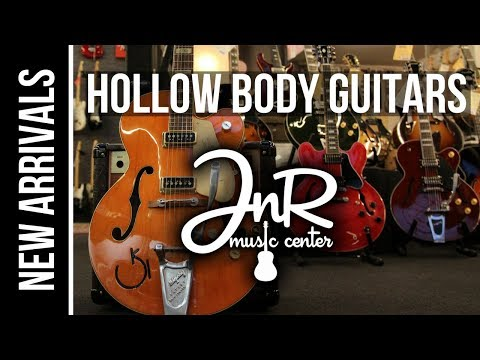 New ARRIVAL hollow body guitars @JnR Music Center