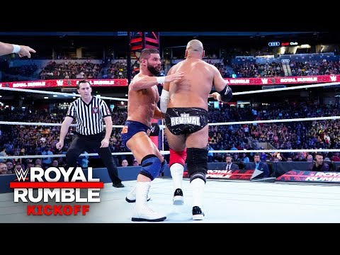 The odd duo of Dawson & Rezar challenge Roode & Gable: Royal Rumble 2019 Kickoff Match