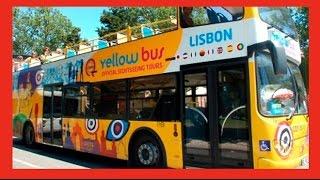 Lisboa 🇵🇹 Passeio de ônibus pelos pontos turísticos. Vamu Ver!