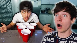 Best Friends Play SCARY Pong.. | Colby Brock