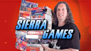Sierra PC Game Collection - Remember these BIG Boxes?