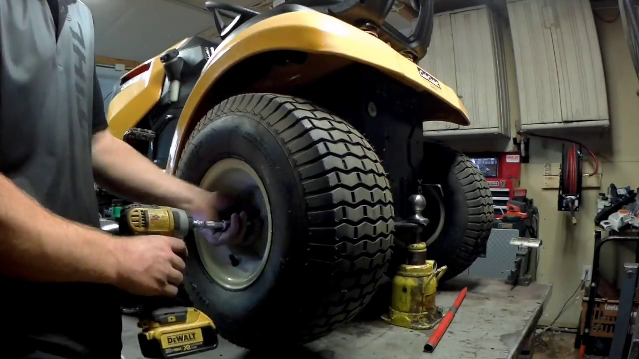 How To Replace Axle Seals On Cub Cadet