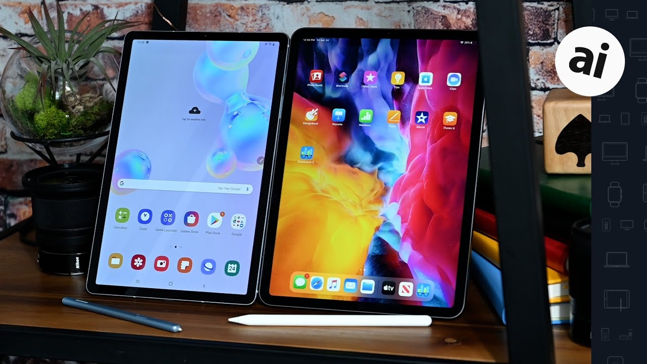 Compared: Galaxy Tab S6 versus iPad Pro with Magic Keyboard