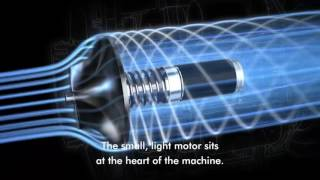 The Dyson V6 digital motor