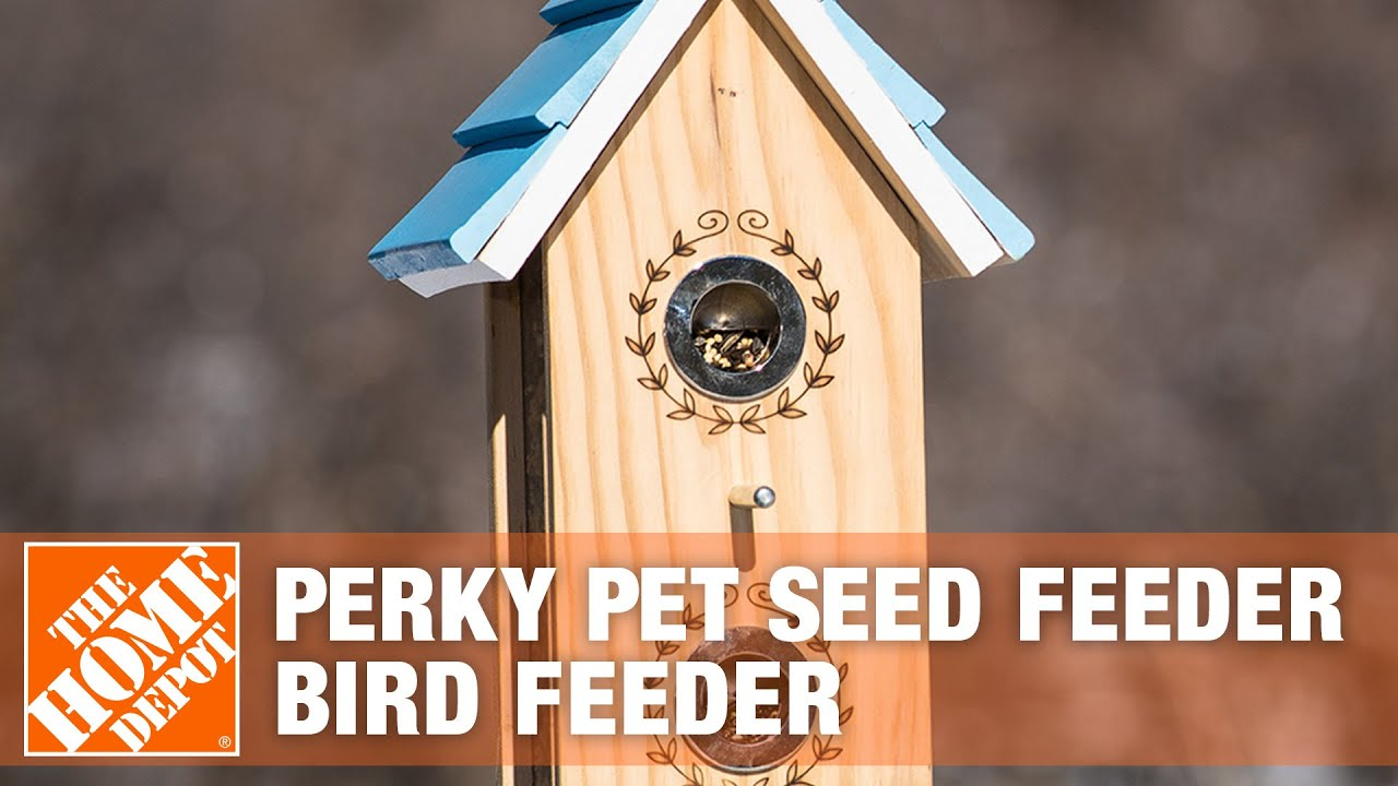 How To Set Up A Perky Pet Seed Feeder Bird The Home Depot You