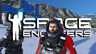 Space Engineers - Mining Survey Team #2 - Building Mining Equipment