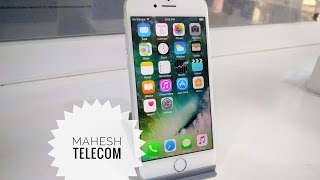 Unboxing Apple iPhone 7 Silver [128GB] Indian Version