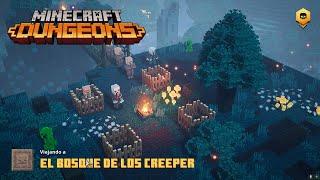 Minecraft Dungeons - El bosque de los CREEPER - Gameplay Español