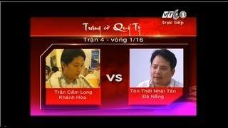 Tan Co Cai Luong | FULL HD TRẠNG CỜ QUÝ TỴ TRẬN 4 TÔN THẤT NHẬT TÂN VS TRẦN CẨM LONG | FULL HD TRANG CO QUY TY TRAN 4 TON THAT NHAT TAN VS TRAN CAM LONG