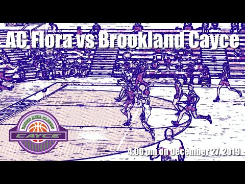 AC Flora Vs Brookland Cayce At The Cayce Roundball Classic