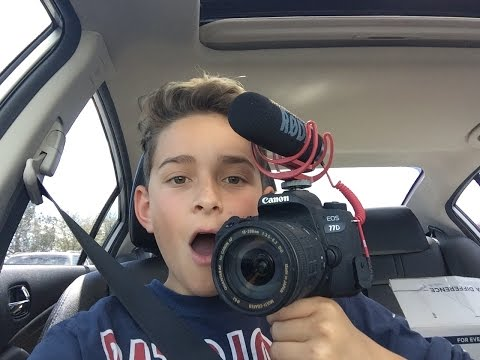 BUYING MY DREAM CAMERA AT AGE 13!