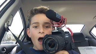buying my dream camera at age 13