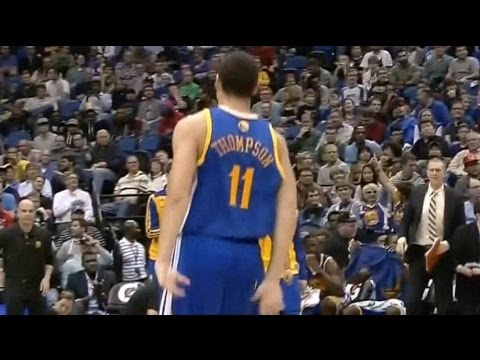 Klay Thompson ( 30 PTS ) vs. Timberwolves (11-6-2013)