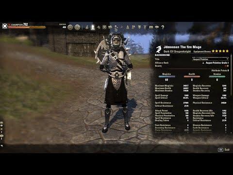 Magicka Dk Pvp Light Armor Build
