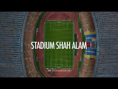 STADIUM SHAH ALAM - Cinematic Aerial View