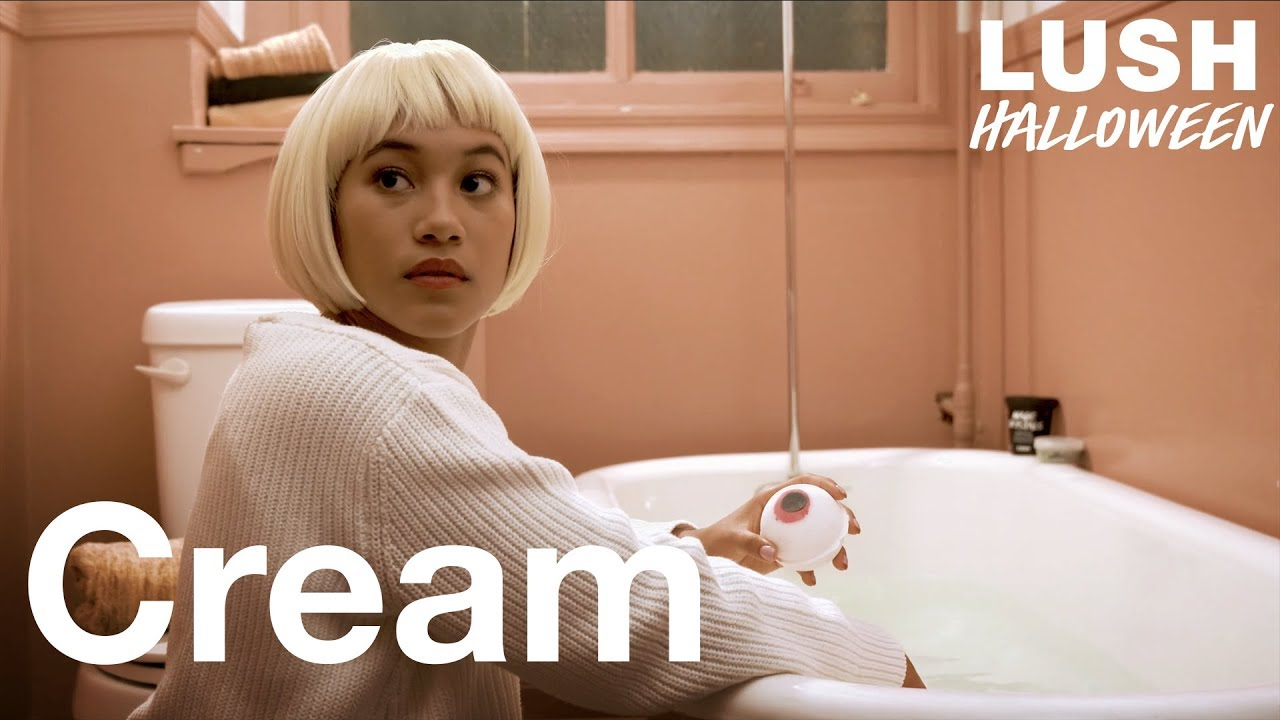 Cream starring Sydney Park and Hayley Law: Lush Halloween 2018