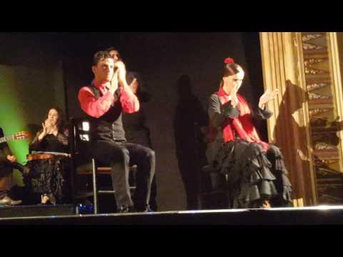 Flamenco Show Dinner, Barcelona, 9 May 2017
