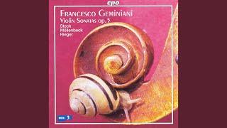 Violin Sonata in D Major, Op. 5, No. 4: II. Allegro moderato