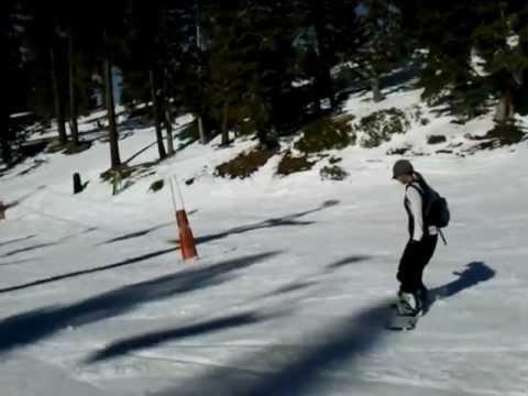 Suz's Snowboard Run 2011