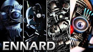 Evolution of Ennard in FNAF (2016-2018)