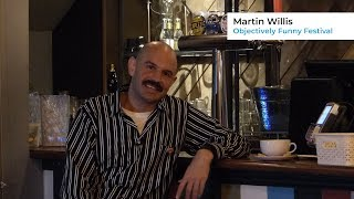 Objectively Funny Festival | Martin Willis Chats To Citizen Ticket