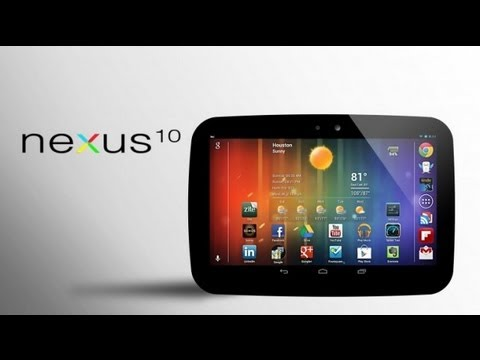 Google Nexus 10: Full Review, Demo & Walk-through (Part 1)