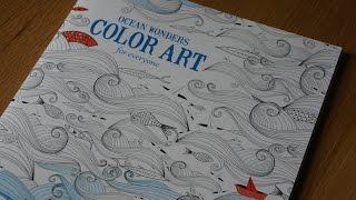 Ocean Wonders Color Art For Everyone Flipthrough/Preview