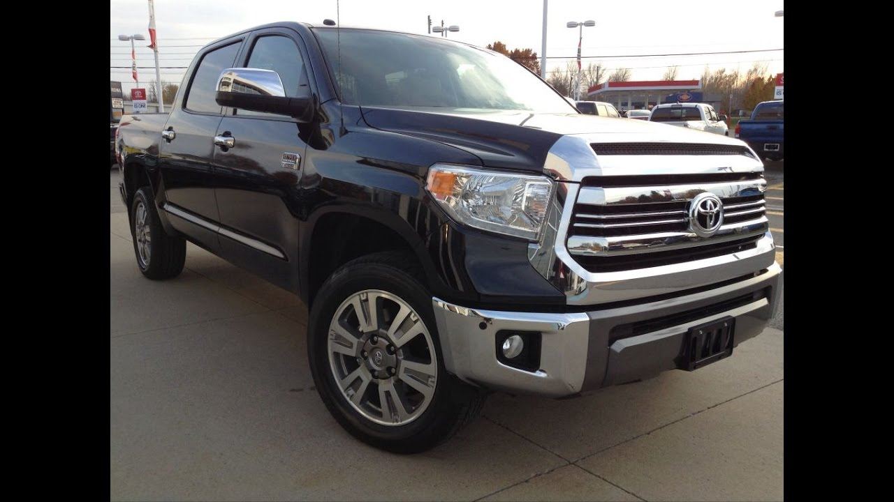 New 2017 Toyota Tundra Crewmax Platinum 1794 Edition