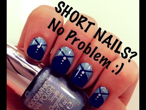 SHORT NAILS?? No Problem