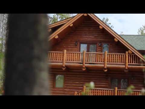 Silver Wolf Log Lodge Meadowlark Log Homes