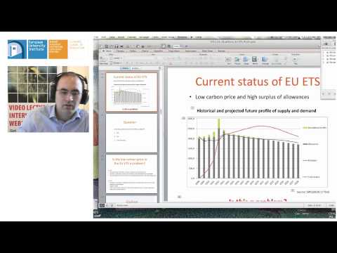 EU ETS: Lessons learned and future perspectives | Claudio Marcantonini