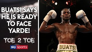 Joshua Buatsi says he is READY to face Yarde & talks about sparring George Groves! 🥊 | Toe 2 Toe