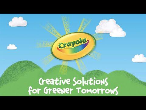 Crayola Sustainability, Renewable Energy & Solar Power || Crayola