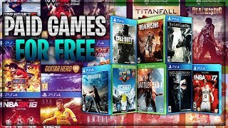 "How To Get Free PS4 & Xbox One Games ""Free PS4 & Xbox One Games"" (How To Get Free Games 2018)"