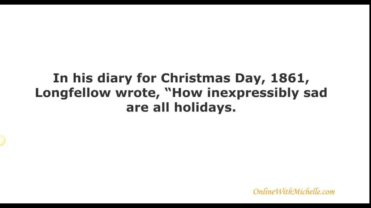 i heard the bells on christmas day i heard the bells on christmas day lyrics - I Heard The Bells On Christmas Day Lyrics
