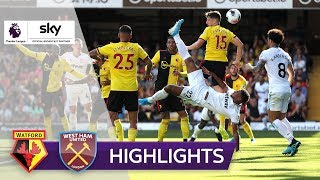 Haller per Fallrückzieher! | FC Watford - West Ham United 1:3 | Highlights - Premier League 2019/20