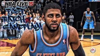NBA LIVE 15 - (PS4) - 1080p HD | Post Patch Update 1.0 Gameplay | Bulls at Cavs | New Kyrie!