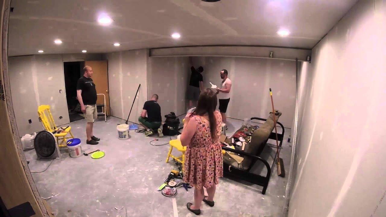 New Mancave Room Timelapse Youtube