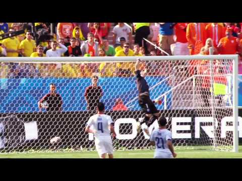 World Cup 2014, Netherlands vs Chile Highlights