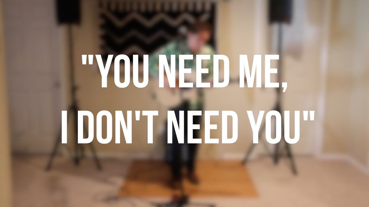 Ed Sheeran You Need Me Live Room Tab | www.myfamilyliving.com