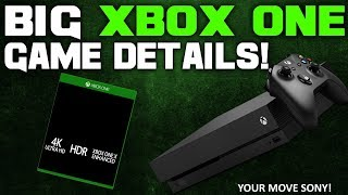 Huge Upcoming Xbox One Game Gets Incredible New Details! Your Move Sony!