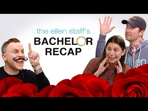 The Ellen Staff's 'Bachelor' Recap: Arie Is the New Bachelor!