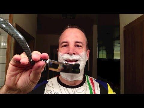 Brian Brown Custom Razor Sings - Straight Razor Shave single pass